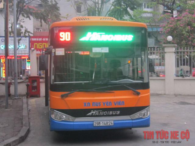 xe bus 90 hà nội