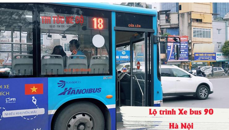 xe bus số 18 hà nội