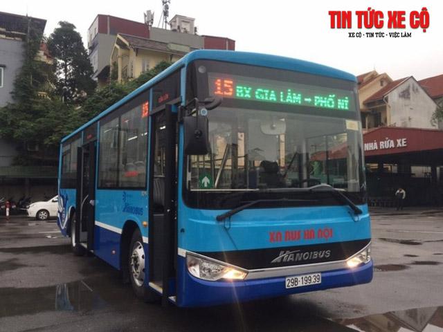 xe buýt 15 hà nội