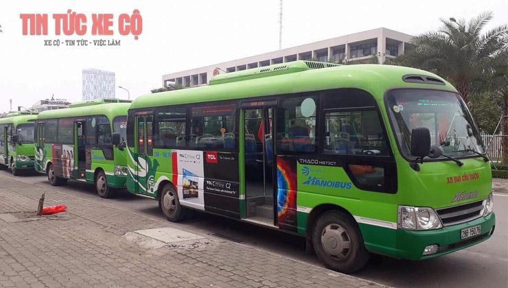 xe buýt 85 hà nội