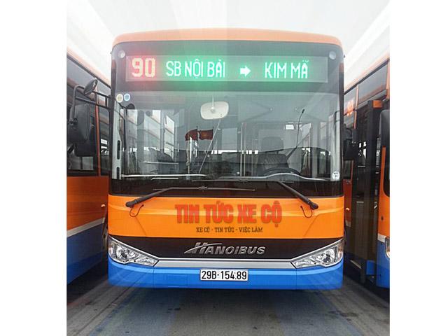xe buýt 90 hà nội