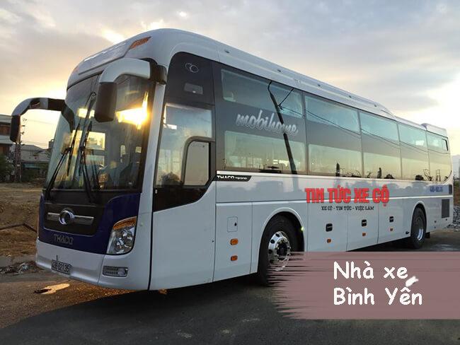 Nhà xe Bình Yến Hà Tĩnh