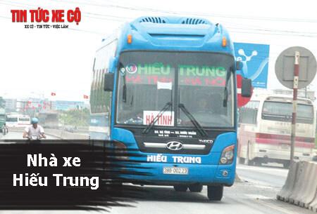 Nhà xe Hiếu Trung Hà Tĩnh