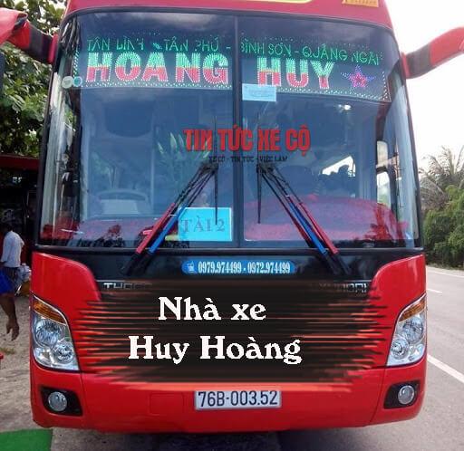Nhà xe Huy Hoàng Hà Tĩnh
