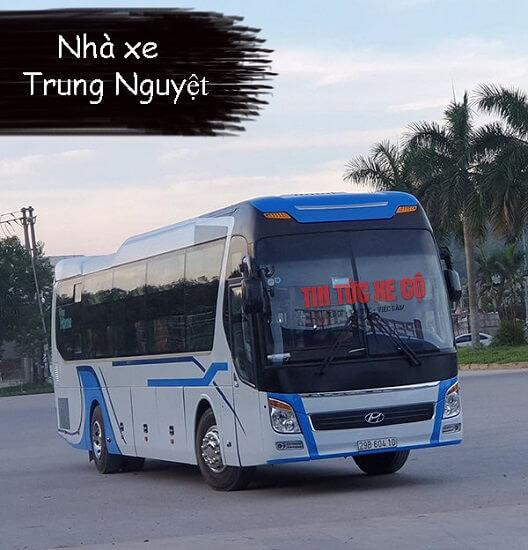 Nhà xe Trung Nguyệt Hà Tĩnh