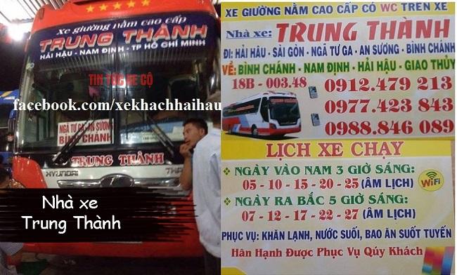 Nhà xe Thành Trung Nam Định