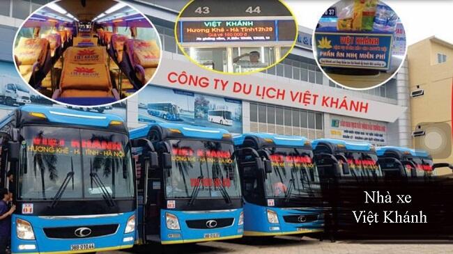 Nhà xe Việt Khánh Hà Tĩnh