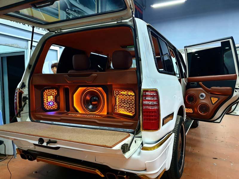 Địa chỉ độ loa ô tô chất lượng cao tại Hà Nội